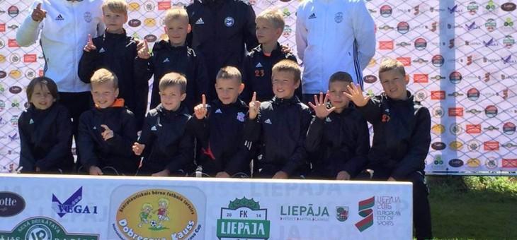 Brīvdienās mūsu kluba jauniešu komandas piedalījās turnīrā Liepājā – Dobrecova kauss 2016 U13/U9/U8