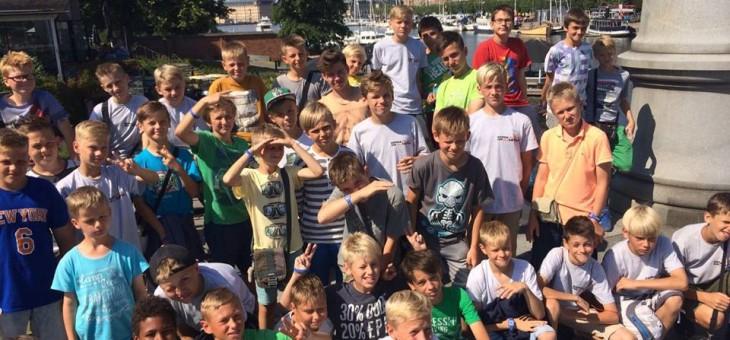 Mūsu jauniešu komandas veiksmīgi startē  pasaulē lielākajā jaunatnes futbola turnīrā Gothia Cup, Zviedrijā