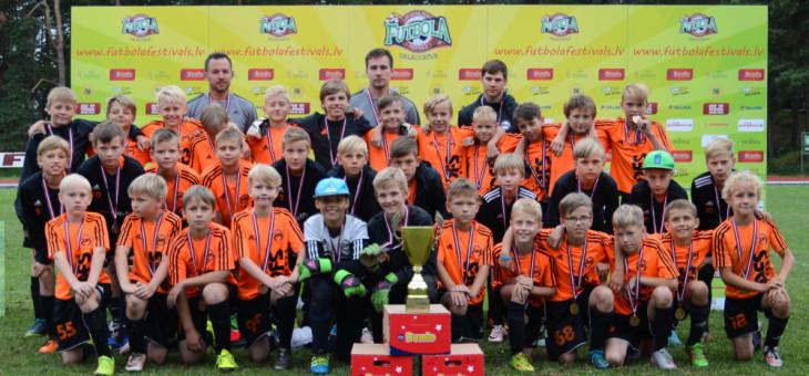 Zēnu Futbola festivālā 3.vieta