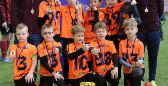 JDFS Alberts 2007.gadu komanda uzvar Viļņā BFA CUP 2017