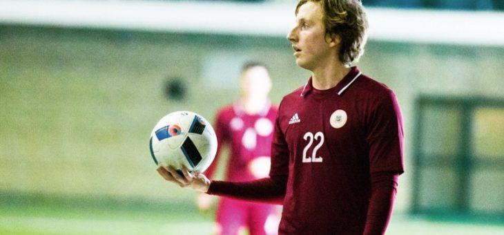 Fricis Roderts izsaukts uz Latvijas U-19 izlasi