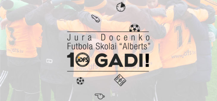 JDFS Alberts 10 Gadu Jubileja!