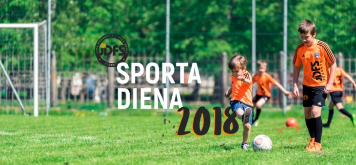 Strauji tuvojas JDFS Alberts Sporta diena 2018!