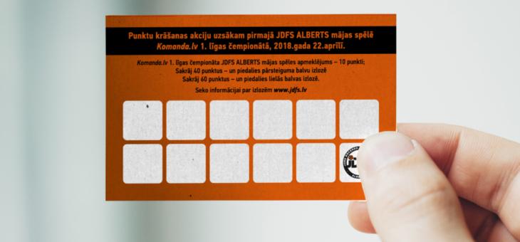 Informācija JDFS Alberts mājas spēļu loterijas dalībniekiem