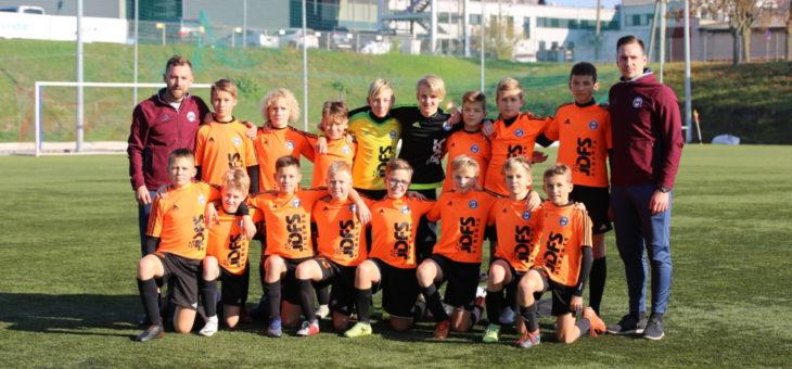 Jauniešu komandas gūst pieredzi turnīros un draudzības spēlēs