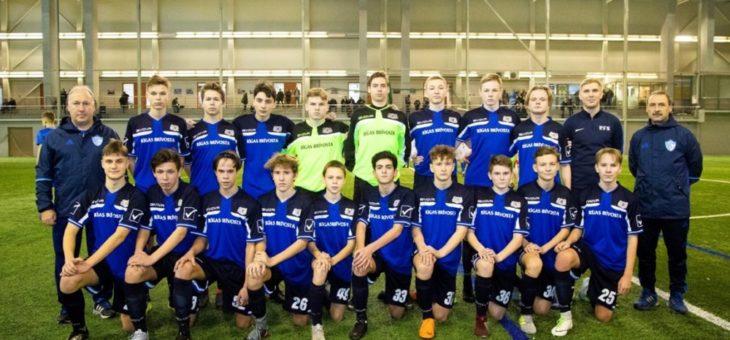 Mūsu audzēkņi pievienojas Rīgas reģiona izlasei Riga cup