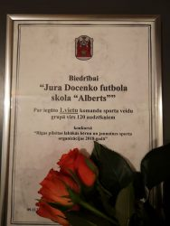 JDFS Alberts -Rīgas pilsētas labākā bērnu un jauniešu sporta organizācija 2018.gadā!