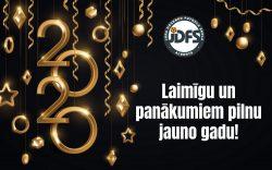 Veiksmīgu visiem Jauno gadu!