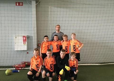 Āgenskalna filiāles puiši aizvadīja divas spraigas spēles Rīgas čempionāta ietvaros U-9 B grupā un U-10 B grupā pret JFK Daugava komandām.