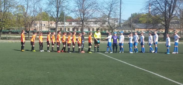 Mūsu U-10 komanda aizvadīja kārtējo Rīgas čempionāta spēli.