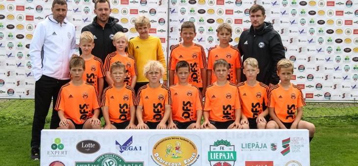 JDFS Alberts 2006 krāj pieredzi spēlējot Dobrecova CUP