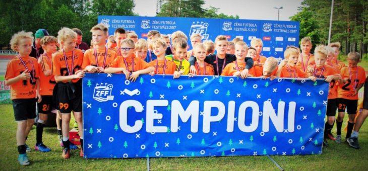 JDFS Alberts uzvar Zēnu Futbola Festivālā un tiek B grupā!