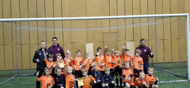 """Mārtiņdienā 2010.g. un 2011.g.dz. puišu komandas piedalījās turnīrā """"Tiger Cup"""""""
