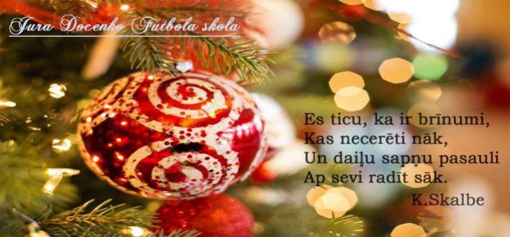 Priecīgus Ziemassvētkus un Laimīgu Jauno 2019.gadu!