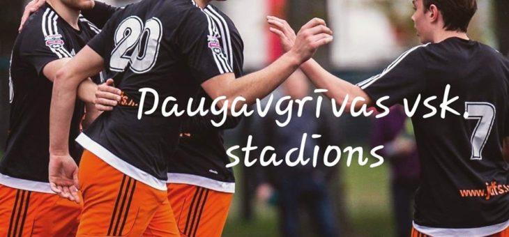 Jau sestdien,18.05.2019,plkst 16:00 tiekamies Daugavgrīvas Vidusskolas Stadions aizvadīsim mājas spēli pret SK Super Nova !