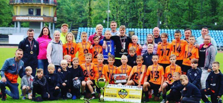 JDFS ALBERTS 2006.gadi uzvar Dobrecova CUP!