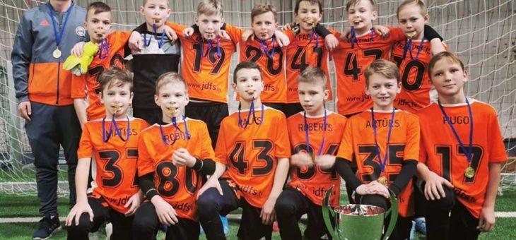 2009.g. komanda izcīna 1.vietu  BFA CUP Viļņā
