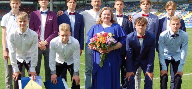 Sveicam pirmos absolventus JDFS Alberts futbola klasē!