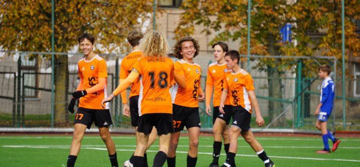 Pirmo reizi JDFS Alberts vēsturē mums ir čempioni jaunatnes čempionātā futbolā 11 pret 11.